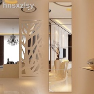 Full Body Mirror Frames Mirror Wall Sticker Adhesive Bathroom Mirror