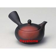 《富樂雅居》日本製 常滑燒 高資 窯變淺丸細 急須壺 (280ml)