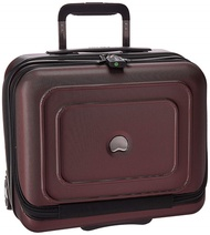 DELSEY Paris Delsey Luggage Cruise Lite Hardside 2 Wheel Underseater with Front Pocket, Black Cherry