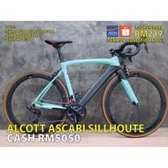 ALCOTT ROADBIKE  ASCARI SILLHOUTE SE FULL 105 (RB)