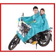 【雙人雨衣】牛津布帳篷式機車雙人雨衣帳篷式 防風防寒 冬季不怕冷 情侶媽媽載小孩