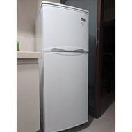 東元  雙門冰箱  R1302W  130公升
