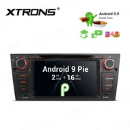 XTRONS Android 9.0 Car Stereo GPS Navigator Auto Radio DVD Player Single 1 DIN Head Unit with 7 Inch Touch Display USB S