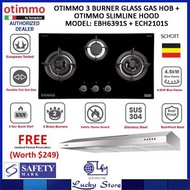 OTIMMO BY EUROPACE COOKER HOOD AND HOB BUNDLE