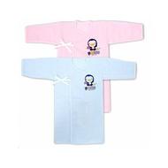 藍色企鵝 PUKU 反袖口紗布長肚衣 紗布衣 20405 好娃娃