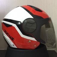 ZEUS ZS-612A zs612a ad9 AD9 ZS612 3/4 半罩 彩繪 雙鏡 安全帽