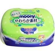 Moony - 日本製80片超柔嬰兒濕紙巾(盒裝)Unicharm 4903111236978