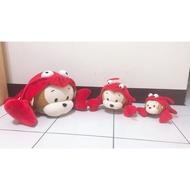 龍蝦猴 / 娃娃 / 布偶 / 抱枕