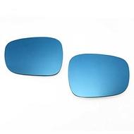 BMW E84 X1/F25 X3用寬大的觀點藍色門鏡透鏡ZONE Racing autoparts ELS
