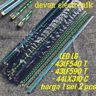 Led Tv Backlight Lights Lg 43lf540t 43lf590t Led Strip Backlight Tv Lg 43lf540t 43lf590t New Ori
