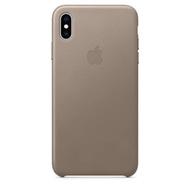เคสหนัง Apple Leather Case สำหรับ iPhone Xs Max ของแท้ ใหม่