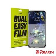 【Rearth】LG V50 滿版抗衝擊螢幕保護貼(兩片裝)