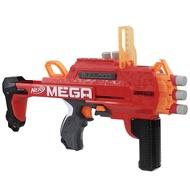 Nerf AccuStrike Mega Bulldog ออเรนจ์ของเล่นสามารถเปิด Soft Bullet Gun Bulldog