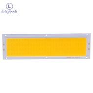 12V 10W แผงบังแดด COB แถบไฟ LED แผ่นเรืองแสงหลอดไฟ120X36mm อบอุ่นสีขาว/สีขาว