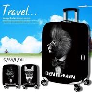 18 ~ 32 นิ้วป้องกันฝุ่นเย็นกระเป๋าเดินทางปกป้องกันกระเป๋าเดินทางยืดหยุ่น