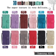 For Samsung Galaxy A 31 A 51 A 71 Flip Cover Shell Flip Leather Case