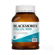 Blackmores Odourless Fish Oil 1000mg 400 Caps 無腥味魚油