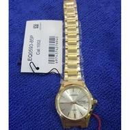 Citizen EQ0593-85P Gold Tone Stainless Steel Analog Ladies Gold Watch