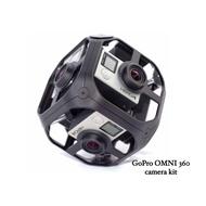 GoPro OMNI 360度 全景攝影組 (二手含6台 HERO4 Black)