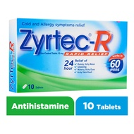 Zyrtec R Rapid Relief Film-Coated Tablet 10mg