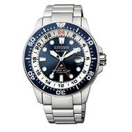 Citizen BJ7111-86L Promaster Divers Eco Drive Super Titanio GMT Mens Watch