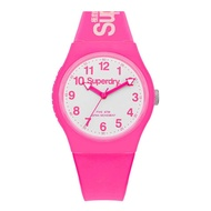 Superdry Urban SYG164PW Analog Quartz Pink Silicone Mens Watch