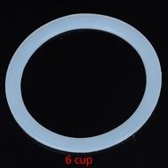 Jealousy ผนึกซิลิโคนยืดหยุ่นแหวนปะเก็นสำหรับหม้อโมก้า Espresso Kitchen เครื่องทำกาแฟ