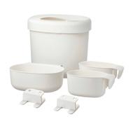 IKEA嬰兒 ONSKLIG 尿布桌儲物籃尿布袋尿布收納盒尿布更換桌儲物籃4件組