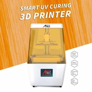 Anet N4 [ BEST PRICE ] UV LCD 3D Printer Machine Fully Assembled HIGH TECH with 2K HD 3.5 Inch Smart Colored Touchscreen U Disk Off-line Print Printing Size 4.72 * 2.56 * 5.43 Inch EU