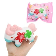Four-leaf Horse Squishy 14CM Slow Rising With Packaging Collection Gift Soft Toy