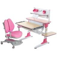 【精品特賣】 學習桌兒童書桌寫字套裝組合書柜店雙11可升降書桌椅柜兒童