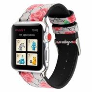 เหมาะสำหรับApple Watch1/2/3/4/5รุ่นApple Watchสายรัดข้อมือIwatchหนังGucciสายนาฬิกา
