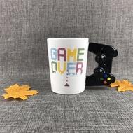 【mrboy】時尚游戲手柄造型陶瓷杯GAME BOY MUG馬克杯牛奶水杯學生禮品杯子