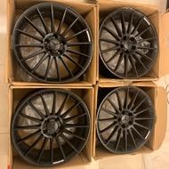 二手鋁圈 類 AMG 19吋 5孔112 W176 A45 CLA45 A180 A250 賓士C300 benz 輪框