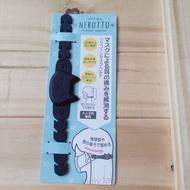 黑貓 大臉 黑 造型減壓帶 矽膠減壓帶 口罩減壓帶 口罩耳朵減壓 口罩防勒輔助 護耳器 口罩勾 真愛日本