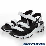 SKECHERS (女) 休閒系列涼拖鞋 D'LITES SANDAL - 31514WBK