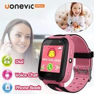 Uonevic S4 Kids Smart Watch นาฬิกาเด็ก ใส่ซิมโทรฯได้ พร้อม GPS กันน้ำ (จมน้ำได้) ติดตามตำแหน่ง และไฟฉาย PK นาฬิกาไอโม่z5
