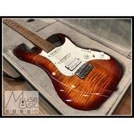 【苗聲樂器Ibanez旗艦店】Ibanez Premium AZ224F-BTB 印尼廠漸層雲紋小搖座電吉他