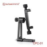 Sunwayfoto SUNWAYFOTO CPC-01 II Profession Photography Live Mobile Phone Bracket Metal Mobile Phone Clamp Pedestal