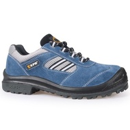 Safety Shoes Shop Kpr Respect King Shoes Steel Head Safety Shoes M - 017b Blue/m