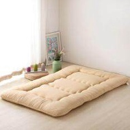180x200cm Breathable Thicken Winter Warm Mattress Foldable Tatami Mattress Pad Sleeping Rug Bedroom and Office Lazy Bed Mats