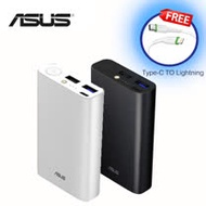 ASUS 行動電源ZenPower 10050C (QC3.0)(黑.銀兩色可選)加贈保護袋
