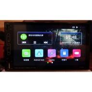 藍芽觸控多媒體汽車音響主機 支援 Apple Carplay & Android Auto 通用 2din