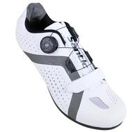 BAISKY百士奇 SANTIC公路登山自行車硬底卡鞋阿波羅(黑色/螢光黃/白色)