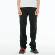 BIG TRAIN 黑色舒適高彈直筒褲-黑