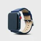 Alto Apple Watch 皮革錶帶 42/44mm-海軍藍
