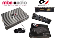 CATEGORY 7 CSA1000.1 Class D Mono Amplifier 1 x 1000Wrms, Car Audio System Mono Amplifier for Subwoofer 2000w Max Power