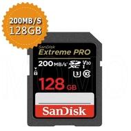【SanDisk 晟碟】Extreme Pro SDXC V30 128GB 170MB/s記憶卡(平行輸入)
