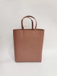【Chiu189英歐代購】CELINE 小牛皮小型 CABAS PETIT 蝦粉色 手袋 購物包