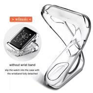 โปรโมชั่น Case ใสนิ่มกันรอยนาฬิกา iWatch Series 1,2,3,4,5,6,SE (พร้อมส่ง) ราคาถูก สายนาฬิกา applewatch